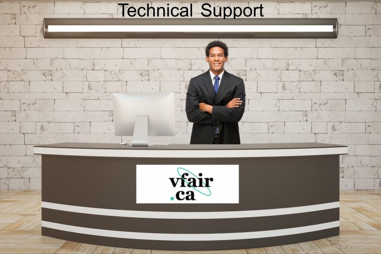 tech support booth
